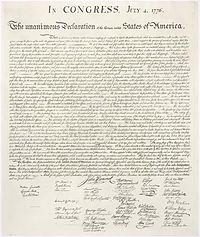 In Congress w signatures
