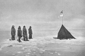 Amundsen at South Pole