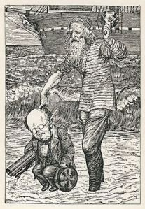 300px-Lewis_Carroll_-_Henry_Holiday_-_Hunting_of_the_Snark_-_Plate_1