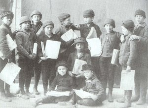 Newsboys Pose c 1890 copy
